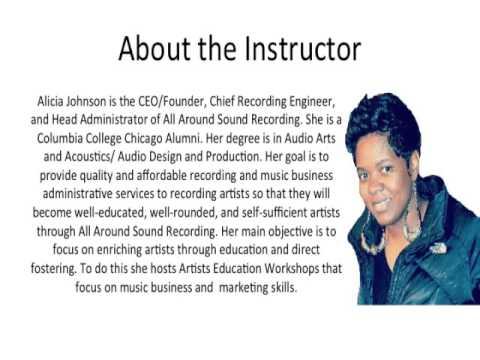 Artist Education Workshop Overview