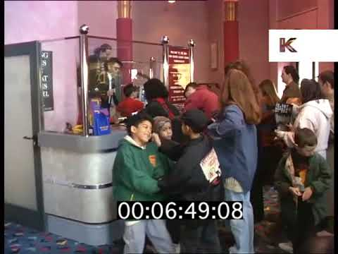 1990s MGM Hammersmith Cinema Opening, London, 1995, Rushes converted