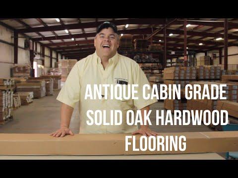Antique Cabin Grade Solid Oak Hardwood Flooring- ReallyCheapFloors.com The Q&A Show