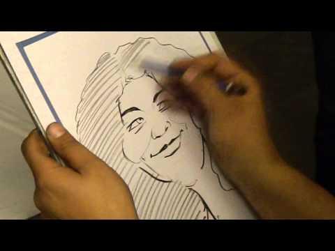 Caricatura eveniment GDF Suez 2014 - Hotel Orizont, Predeal