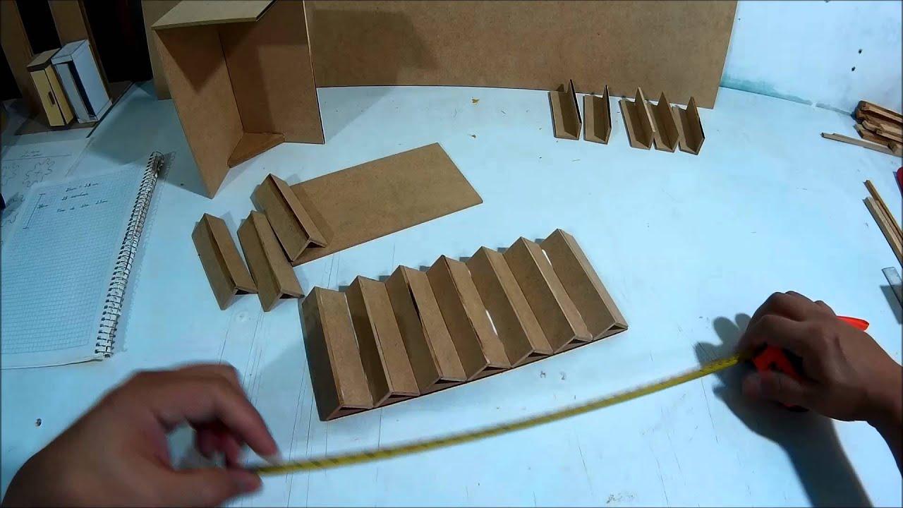 Como hacer nuestra casa de mu ecas parte 1 b youtube for Como hacer gradas