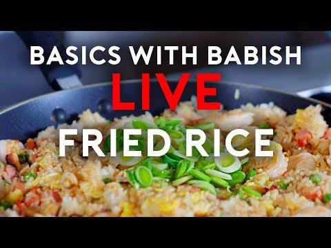 Basics With Babish Live   Fried Rice