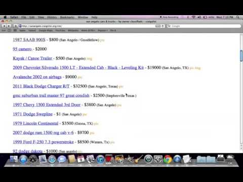 Craigslist San Angelo Texas Used Cars and Trucks from Ford ...