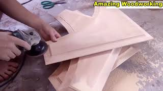 #Amazing Woodworking Skills   How To Building Project