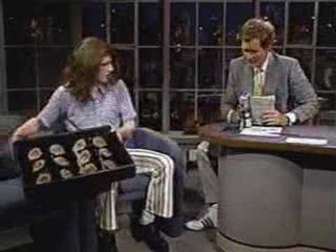 Crispin Glover on Letterman 1987 (infamous)