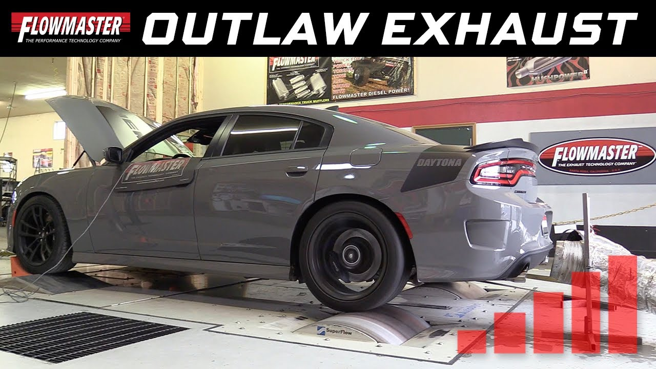 2017 19 charger r t daytona 5 7l outlaw cat back exhaust system 817845