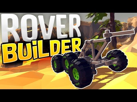 Rover Builder - Building Vehicles To Explore Alien Worlds! - Rover Builder Gameplay Part 1
