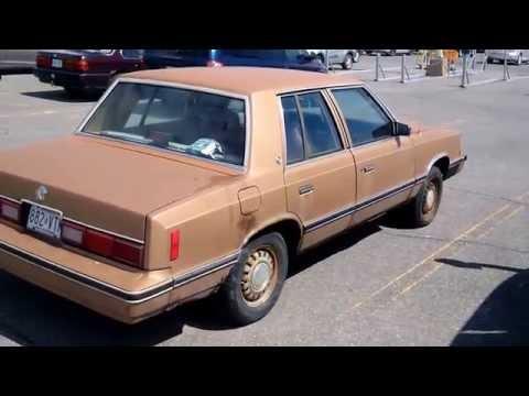 1982 DODGE ARIES ( K CAR )