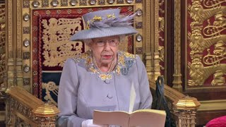 Queen carries out first major public engagement since Prince Philip's death at Parliament opening