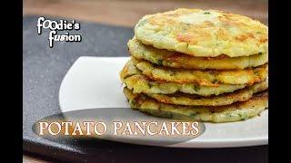 ৫ মিনিটে সকালের / বিকালের নাস্তা -  ঝটপট আলুর প্যানকেক  | Easy Potato Pancakes | Alur Pancake Bangla