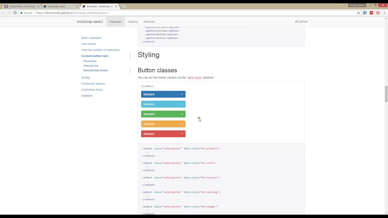 Better Dropdowns with Bootstrap-select