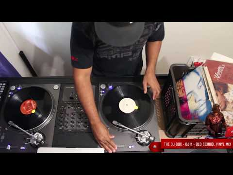 ♫ DJ K ♫ Old School R&B Vinyl Mix ♫ Dusty Crates ♫ Feb 2014