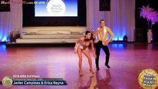 WSS16 Professional Salsa On1 3rd Place Javier Campines & Erica Reyna
