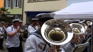 Lenzburger Jugendfest 2014 Umzug Stadtmusik