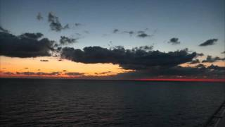 Sunsets,,Moonlight. .and Enya  on the Carnival Triumph......