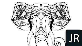 Trase Adobe illustrator / Как рисовать векторную графику / Уроки
