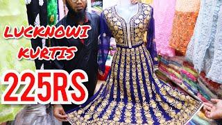 Crawford market   Wholesale Lucknowi Kurti   Mangaldas market - better than surat market