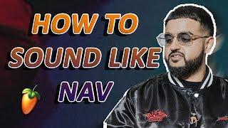 How to Sound Like Nav Vocal Effect Tutorial | FL Studio
