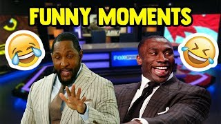 Shannon Sharpe/Ray Lewis Undisputed Funny Compilation (NEW)