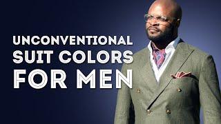 Unconventional Suit Colors for Men - Should You Wear Bold or Loud Suits?