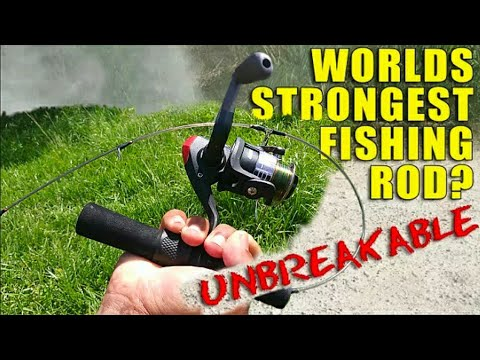 World's STRONGEST Fishing Rod?