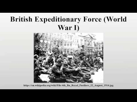 British Expeditionary Force (World War I)