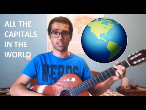All Capitals in the World (cover)