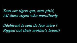 Mireille Mathieu - La Marseillaise (Lyrics - French / English Translation)