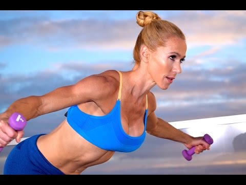 22-Minute Cardio HIIT Workout =  Intense Fat Loss TABATA At Home  Workout With Weights