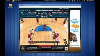 NCAA March Madness Live -- THE BOSS BUTTON! LOL! (no audio)