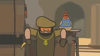 CS:GO Cartoon,(CS: GO de dibujos animados)un conjunto de