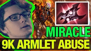 HOW TO ABUSE ARMLET LIKE A 9K - Miracle - Dragon Knight -  Dota 2
