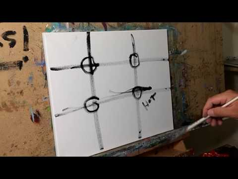 Art Composition, The Rule of Thirds, Painting, Artist JOSE TRUJILLO