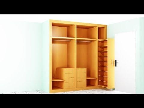 Como hacer un armario para la habitacion resumen youtube for Closet en madera para habitaciones