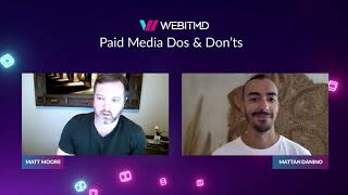 Paid Media Dos & Don'ts | PPC Management Services & Expertise | WEBITMD
