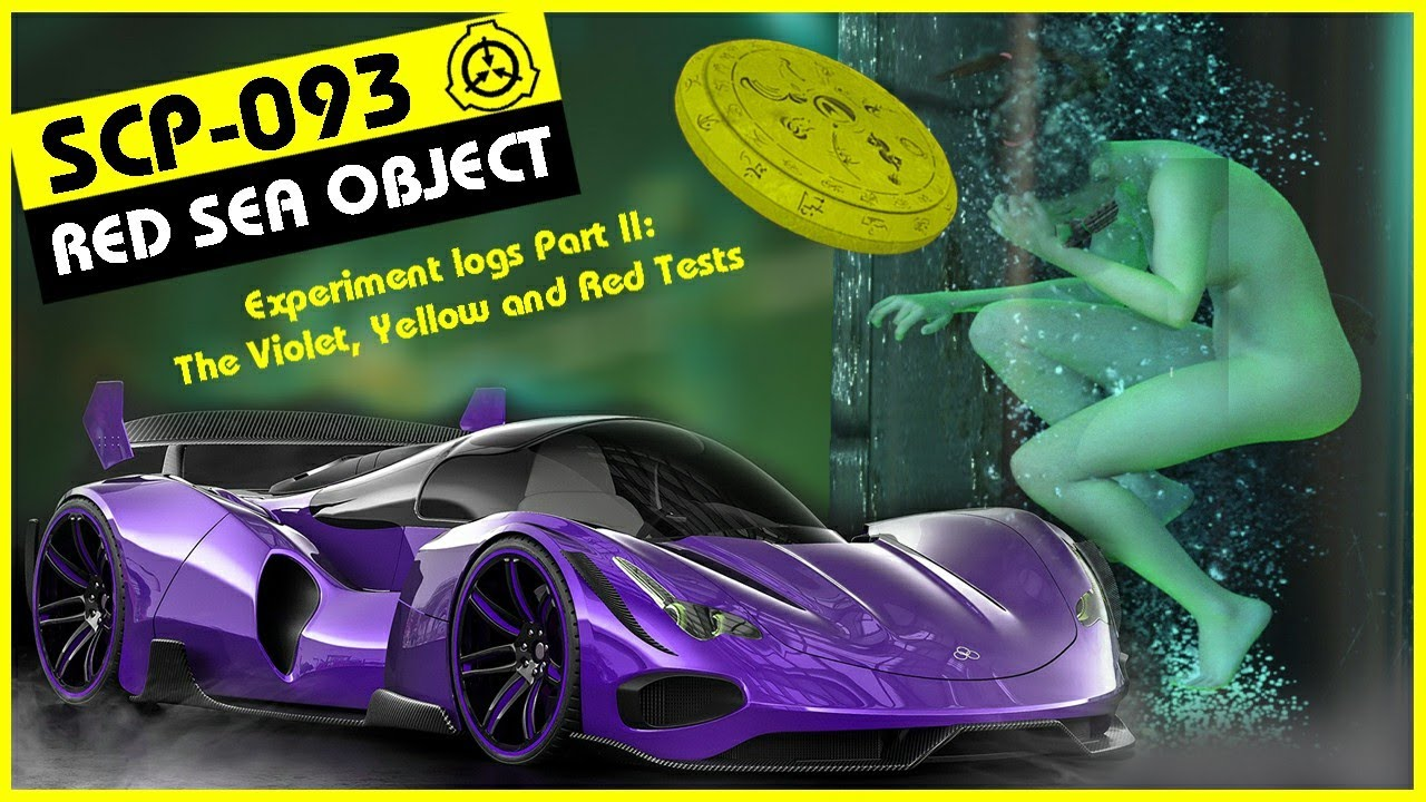 SCP-093 | Experiment logs Part II: The Violet, Yellow and Red Tests