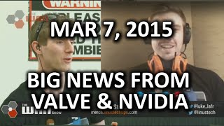 the wan show crazy nvidia and valve news titan x and more mar 6 2015