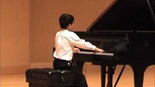 Mozart - Piano Sonata No. 5 in G major, K. 283- Allegro, Performed by Alex Zhou, Age 9