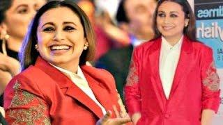 "Rani Mukherjee's Worst Dress At ""HT Most Stylish Awards 2017"""