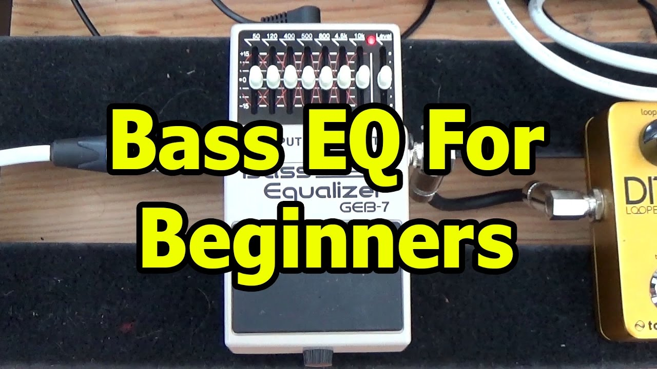 Bass Guitar EQ for Beginners (Graphic and Parametric)