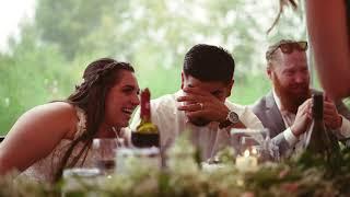 Emotional farm wedding film