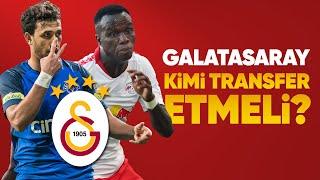 Galatasaray Hangi Transferleri Yapacak? Bruma Mı, Trezeguet Mi, Onyekuru Mu? Şener GS'a Ne Katar?