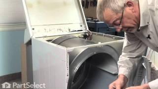 Dryer Repair- Replacing the Dryer Drum Belt (Frigidaire Part# 134503600)
