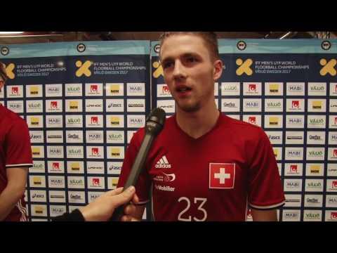 U19-WM 2017 | SUI vs. LAT | Interview Florian Wenk