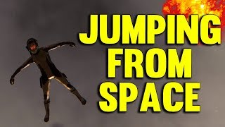 Star Citizen 3.0 JUMPING FROM SPACE - Star Citizen Alpha Gameplay #44