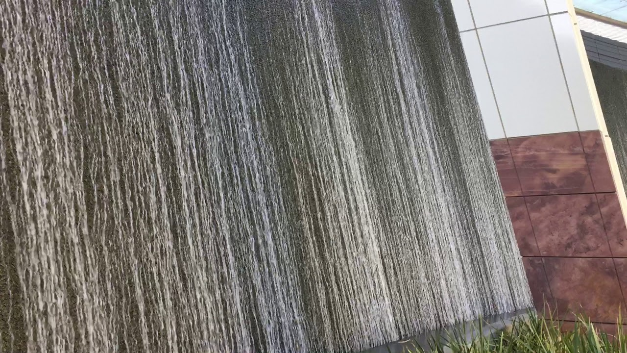 Aria Water Wall Video Las Vegas December 2017 & Aria Water Wall Video Las Vegas December 2017 - YouTube