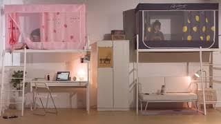 사각난방텐트 단열텐트 보온텐트 기숙사 어린이 침대커튼 …