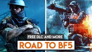 Free DLC & Battlefield Skins! ► Road To Battlefield 5 Stage 2 News