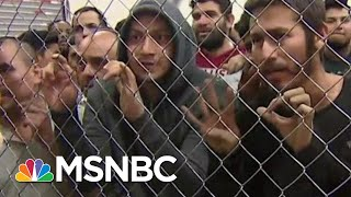 Shocking New Images Of Overcrowding At The Border   All In   MSNBC