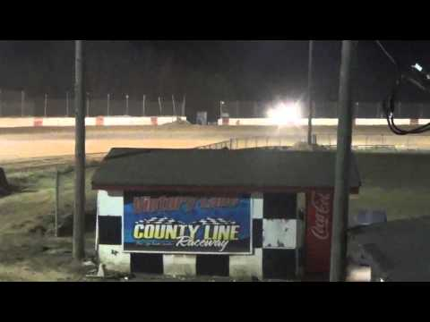 Late Model Practice at County Line Raceway 3/18/16